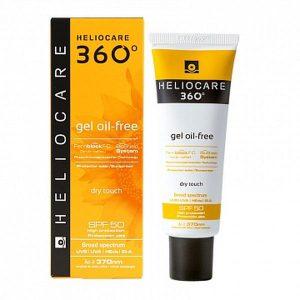 Солнцезащитный гель с SPF 50 для нормальной и жирной кожи