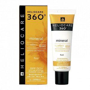 Солнцезащитный минеральный флюид с SPF 50+ для всех типов кожи