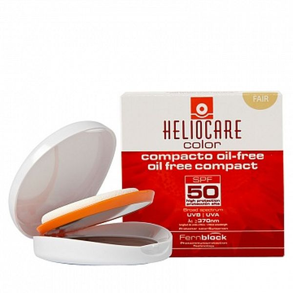 Крем-пудра компактная с SPF 50 для жирной и комбинированной кожи (Fair-светлый натуральный)