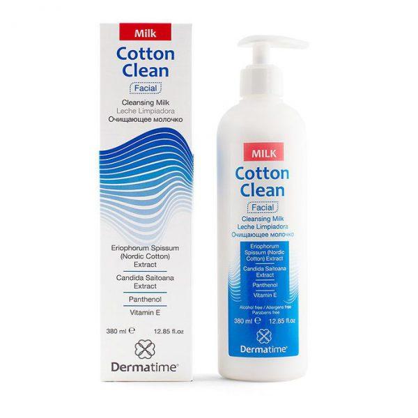 COTTON CLEAN Cleansing Milk (Dermatime) – Очищающее молочко