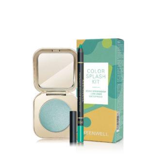 COLOR SPLASH KIT: Mono Eyeshadow & Eye Liner Waterproof (Keenwell) – набор из двух средств (тени для век + водостойкий карандаш для глаз)