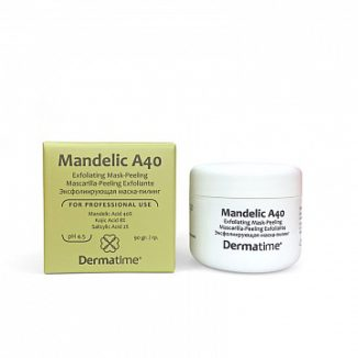 Mandelic A40 – Exfoliating Mask-Peeling (Dermatime) – Эксфолиирующая маска-пилинг / pH 4.5