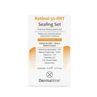 Retinol 5n RRT Sealing Set – Набор саше с инкапсулированным ретинолом 5% для запечатывания химических пилингов