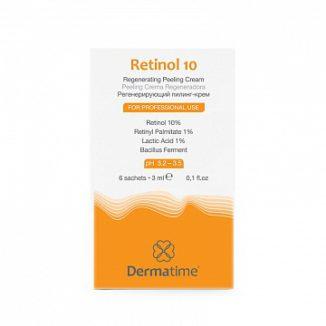 Retinol 10 – Набор саше с ретинолом 10% для запечатывания химических пилингов