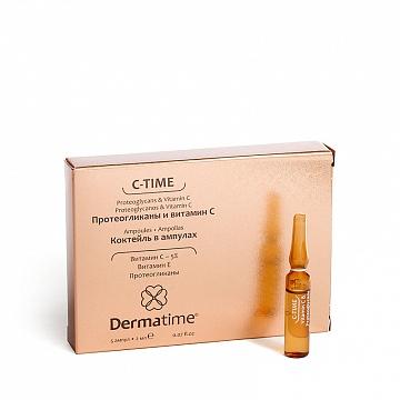 C-TIME Proteoglycans & Vitamin C (Dermatime) – Протеогликаны и витамин С – Коктейль в ампулах