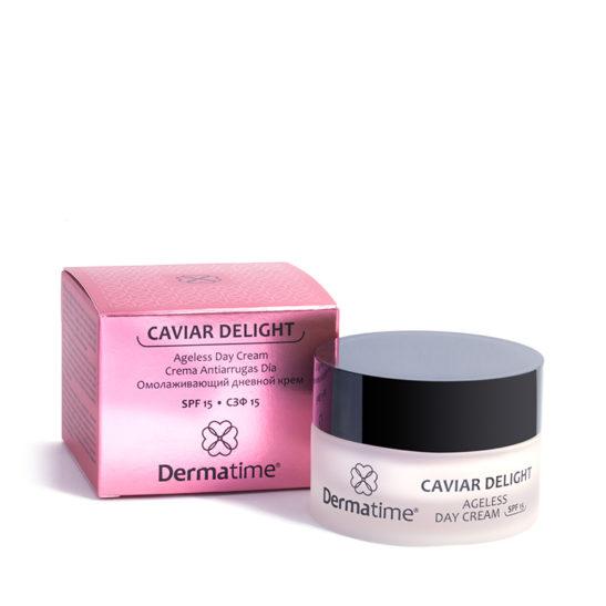CAVIAR DELIGHT Ageless Day Cream SPF 15 – Омолаживающий дневной крем, СЗФ15