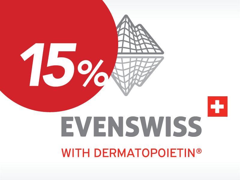 Evenswiss (Швейцария) – февральская скидка 15%