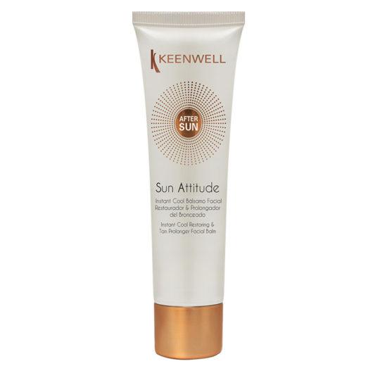 Sun Attitude – After Sun Instant Cool Balsamo Facial Restaurador & Prolongador del Bronceado – Мгновенно освежающий и восстанавливающий бальзам-пролонгатор загара для лица