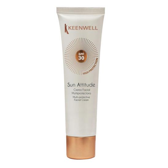 Sun Attitude Crema Facial Multiprotectora SPF 30 - Мультизащитный крем для лица с СЗФ 30