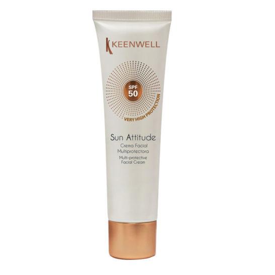 Sun Attitude Crema Facial Multiprotectora SPF 50 – Мультизащитный крем для лица, СЗФ 50