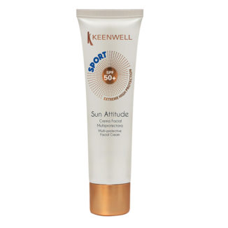 Sun Attitude Crema Facial Multiprotectora Sport SPF 50+ – Мультизащитный крем для лица Формула Спорт СЗФ 50+